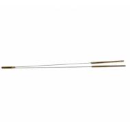 Wünschelrute aus Messing langer Kopf 40cm