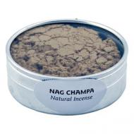 Nag Champa Räucherwerk-Pulver 30 Gramm Dose