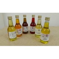 Öleset / Geschenkset kaltgepresst 6 x je 100 ml Küche und Kosmetik