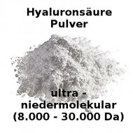 "Hyaluronsäure ultra - niedermolekular Anti Aging Pulver ""Mäc Spice"""