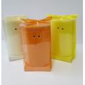 Duftlampe-Teelichtlampe Keramik orange-oval
