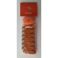 """Räucherstäbchen, -Blätter  """"Orange"""" Oval"""