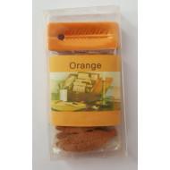 """Räucherstäbchen, -Blätter  """"Orange"""" rechteckig"""