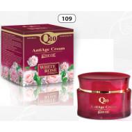 AntiAge Gesichtscreme mit Bulgarian Rosen Wasser und Öl and Q10