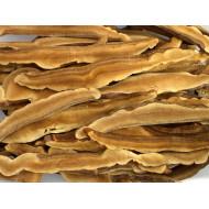 Ganoderma lucidum (Reishi / Ling-Zhi) in Streifen  getrocknet