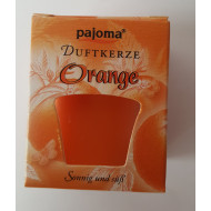 "Duftkerze  -  ""pajoma"" - Orange"