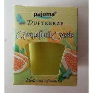 "Duftkerze  -  ""pajoma"" - Grapefruit Cassis"