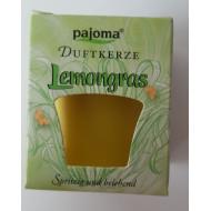 "Duftkerze  -  ""pajoma"" - Lemongras"