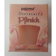 "Duftkerze  -  ""pajoma"" - Pfirsich"