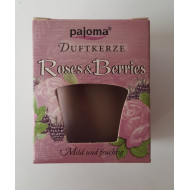 "Duftkerze  -  ""pajoma"" - Roses & Berries"