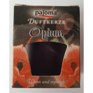 """Duftkerze  -  """"pajoma"""" - Opium"""
