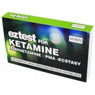 EZ-Test für Ketamine Drogenschnelltest 10 x Test