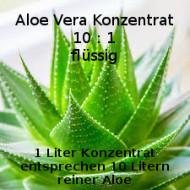 Aloe Vera Saft/Gel flüssig 100% reiner Aloe Blattsaft