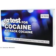EZ-Test für Kokain Drogenschnelltest 10 x Test