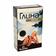 Kosmetischer Lehm Lehmpulver Gesichtsmaske schwarz 100 g Packung