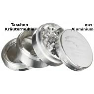 Kräutermühle aus Aluminium 5 teilig