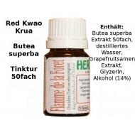 Red Kwao Krua ( Butea superba ) Tinktur 50fach