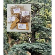 Zedernholz geschnitten  Cedrus deodara Naturprodukt von Mac Spice