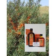 Sanddornöl  Fruchtfleischöl 100% natürl. Fruchtfleischöl Mäc Spice Qualität