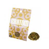 Kratom Malaysia (Mitragyna speciosa) geschreddert 10Gramm