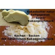 Bio Kakaobutter Chips  Lebensmittelqualität