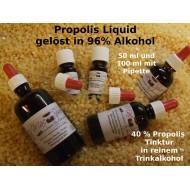 Propolis Tinktur 40%- 50% 100 ml mit Pipette in reinem Weingeist gelöst