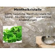 "Mentholkristalle Menthol Kristalle 100% natürlich ""Mäc Spice"""