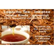Lapacho Tee Inka Tee  Lapachorinde spezialgereinigt neue Ernte Mäc Spice