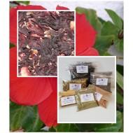 Hibiskus Blüten Tee, geschnitten HIBISKUSBLÜTENTEE Eibisch Mäc Spice