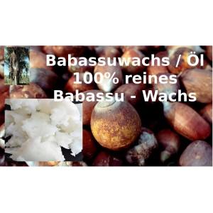 """Babassuöl / Wachs Butter raffiniert Babassu Orbignya oleifera reine Öle """"Mäc Spice"""""""