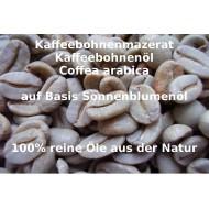 "Kaffeebohnenöl Mazerat Basis Sonnenblumenöl Coffea arabica reine Öle ""Mäc Spice"" Beauty"