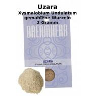 """Uzara """"Xysmalobium Undulatum"""" gemahlen 2 Gramm Pack beste Qualität"""
