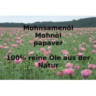 """Mohnöl Mohnsamenöl kaltgepresst Papaver somniferum L. reine Öle von """"Mäc Spice"""""""