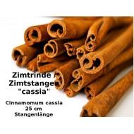Zimtstangen Cassia ca. 25 cm Stangen Gewürz-Basteln Deko Top-Qualität