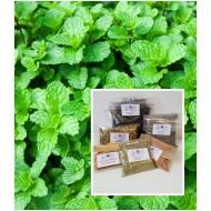 Pfefferminzblätter geschnitten  Tee - Nahrung - Natur
