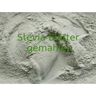 Steviablätter gemahlen Stevia rebaudiana Pulver reine Steviablätter reine Natur