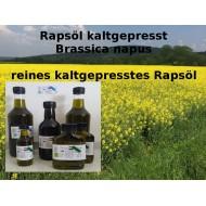 Rapsöl spritzmittelfrei kaltgepresst Brassica napus Mäc Spice Öle