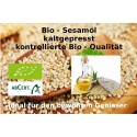 "Bio Sesamöl kbA kaltgepresst Sesamum indicum L 100% Bio Öle ""Mäc Spice"" biolog. Anbau"