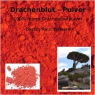 """Drachenblut Pulver Harz Sangre de Drago Resina Draconis """"Mäc Spice"""" Qualität"""