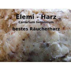 Elemi Räucherharz weich Canarium luzonicum 100% natürliches Räucherwerk