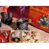 Hexenkistchen Räucherset ideales Geschenk für Esoteriker und Einsteiger