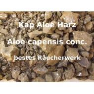 "Kap Aloe - Kapaloe ""Harz"" Aloe capensis best. Räucherwerk von Mäc Spice"