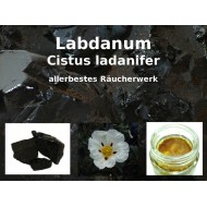 "Labdanum Räucherharz Cistus ladanifer 100% natürlich ""Mäc Spice"""