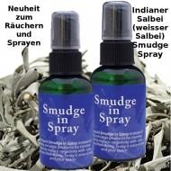 Smudge Spray - Weißer Salbei (Indianersalbei) Spray Neu und perfekt für drinnen