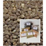 Moschuskörner ganz Abelmoschus moschatus reines Naturprodukt von Mac Spice