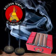 Golden Tempel Räucherkohle 4,0 cm Rolle Kohletabletten Rolle a 10 Tabletten