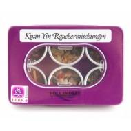 Kuan Yin Räuchermischungen 6 Döschen als Set