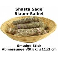 Shasta Sage Smudge Stick Blauer Salbei 1 Stück Reinigungsräucherung Top