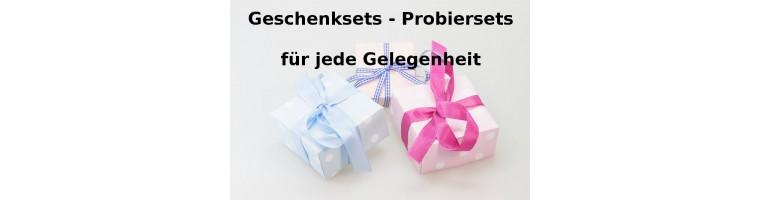 Geschenke und Probiersets