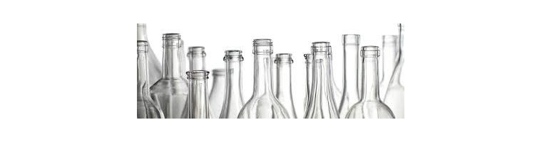 Glasflaschen - Schmuckflaschen